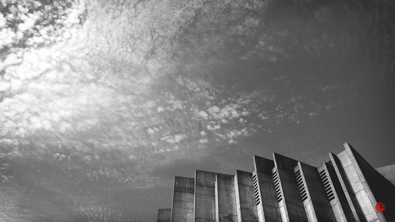 grieghallen wallpaper fehephotography - brutalism bw